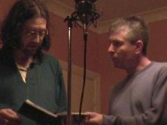 Peter Dahl-Collins & singer Steve Yeates